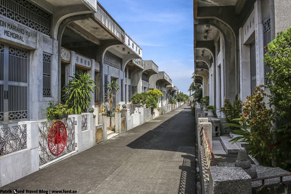 Chinese Cemetery, Street picture 3, Manila, Philippines © Patrik Lord Travel Blog