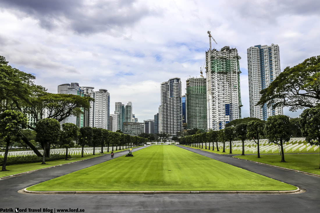 Manila American Cemetery, The Entrance, Manila, Philippines © Patrik Lord Travel Blog