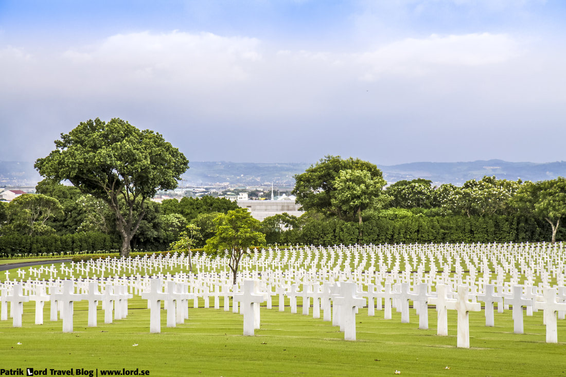 Manila American Cemetery, View over headstones, Manila, Philippines © Patrik Lord Travel Blog