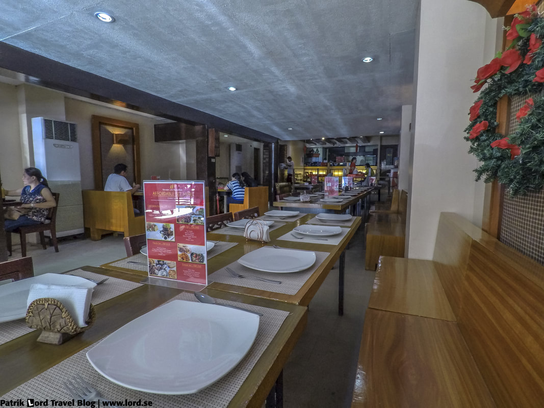 Review of JJ's Dimsum and Restaurant, Interior 3, Bohol Philippines © Patrik Lord Travel Blog