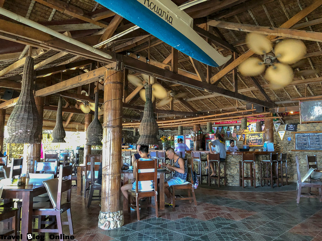 Easy Diving and Beach Resort, Sipalay, The restaurant, Philippines © travelblogonline.com