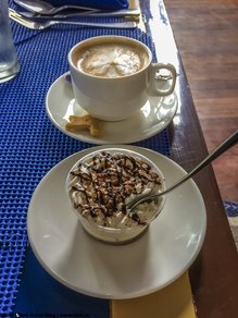 Review of Sans Rival Bistro Cafe Latte Dumaguete Negros Oriental Philippines © Patrik Lord Travel Blog