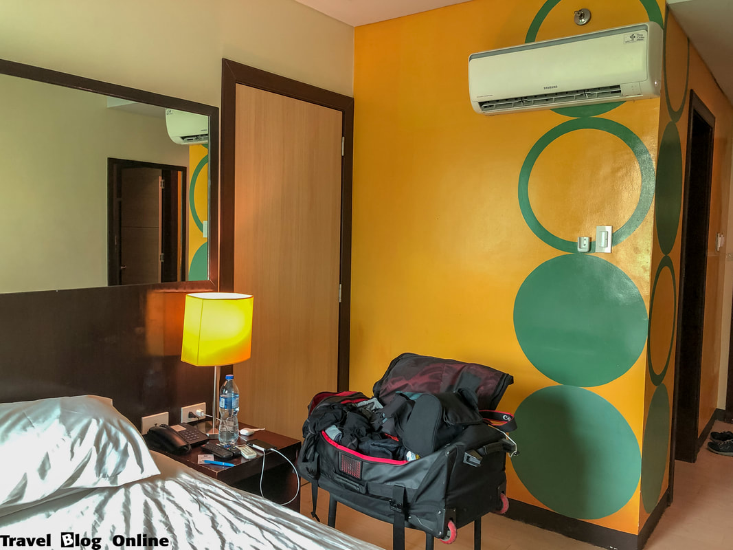Go Hotels, The room, Dumaguete, Philippines © travelblogonline.com