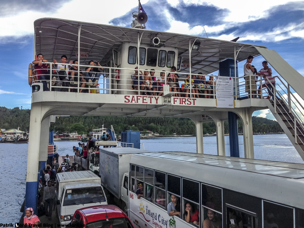 Going by ferry from Samal Island to Davao City © Patrik Lord Travel Blog