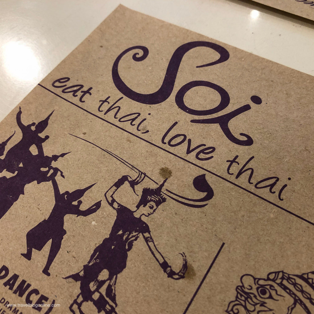 Soi Thai Restaurant, Robinsons Place, Ermita, Manila, Philippines, the motto