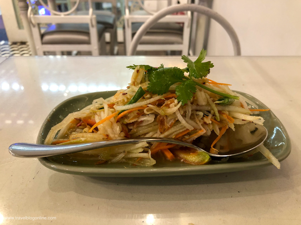 Soi Thai Restaurant, Robinsons Place, Ermita, Manila, Philippines, Papaya Salad