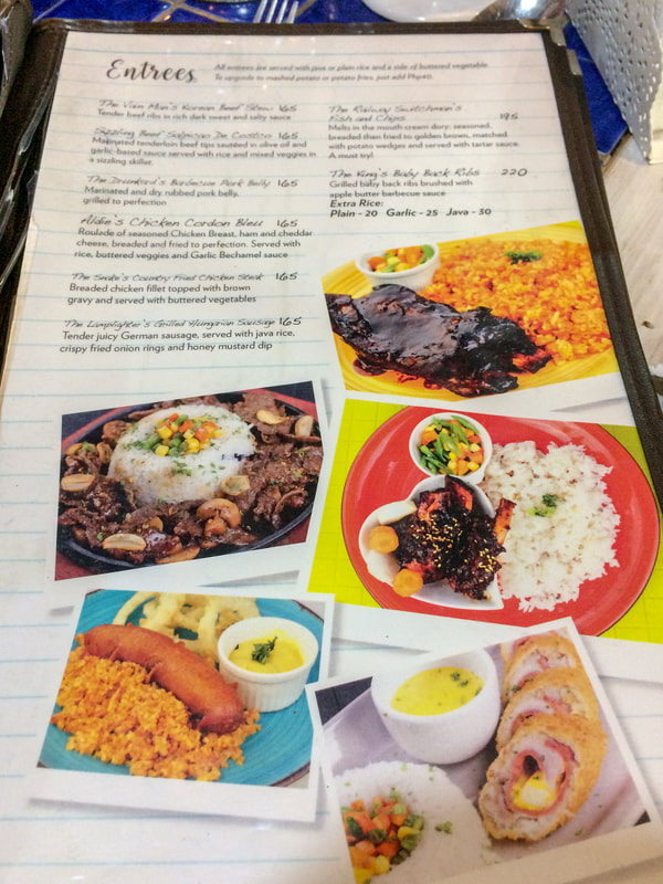 Review of Chapters Café, Menu, Dumaguete, Negros, Philippines © Patrik Lord Travel Blog