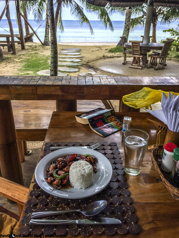 Review of Charisma Beach Resort and Restaurant, Lunch with a view, Siquijor Philippines © Patrik Lord Travel Blog