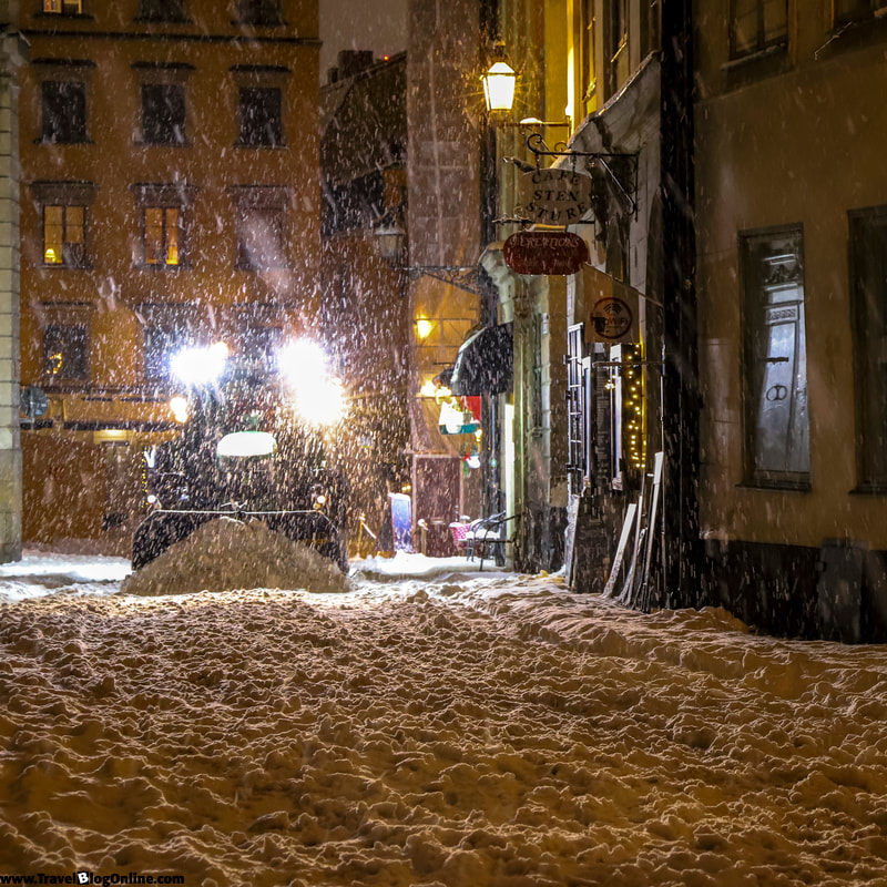Stockholm, Sweden, Winter, Old Town © www.travelblogonline.com