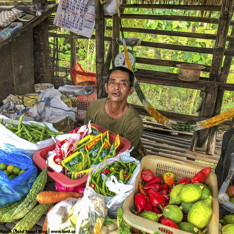 Veggie guy, Bananas, Sibulan, Dumaguete, Philippines © Patrik Lord Travel Blog